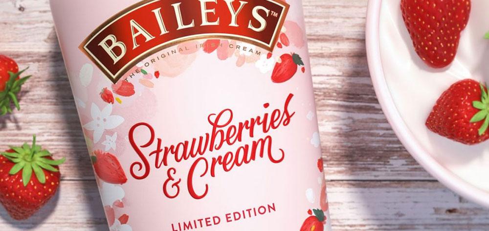 Bailey's Strawberries & Cream Liqueur