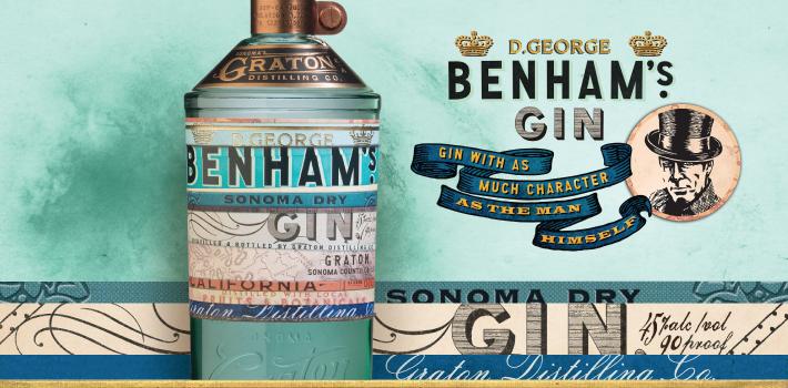 George Benham's Sonoma Dry Gin
