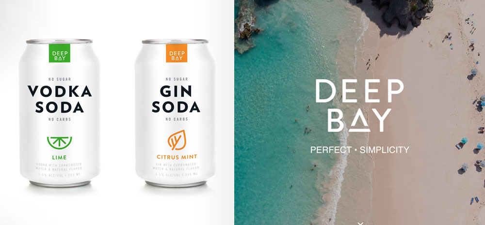 Deep Bay Canned Cocktails