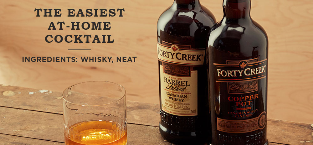 Forty Creek Canadian Whiskey