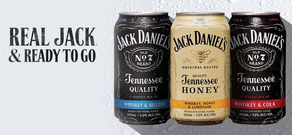 Jack Daniel's Ready to Drink Cocktails