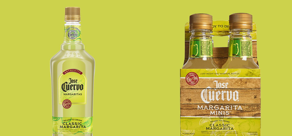 Jose Cuervo Margarita VS Minis