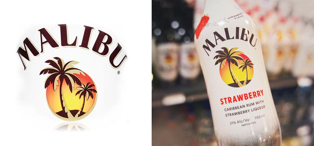 Malibu Rum Strawberry