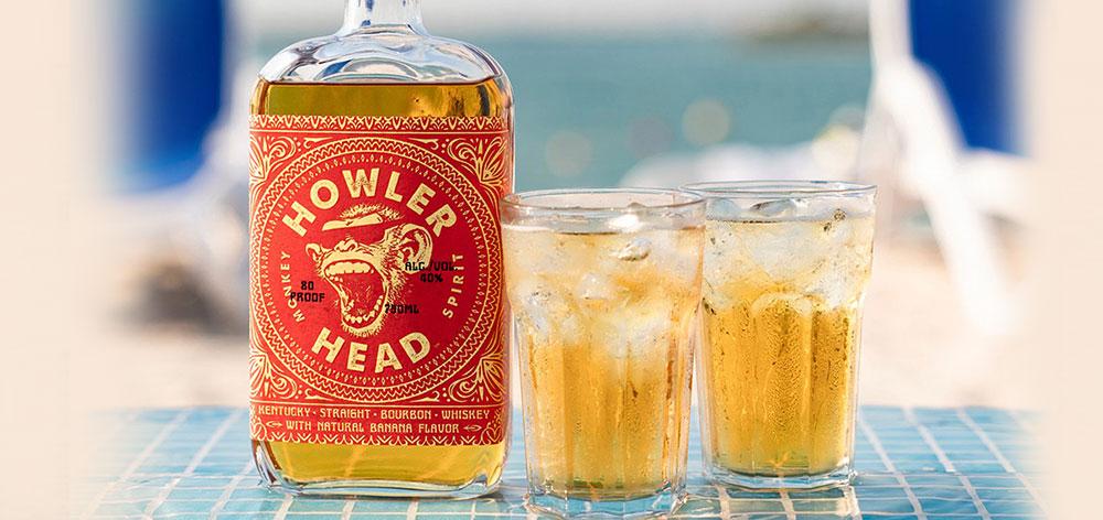 Howler Head Banana Bourbon Whiskey