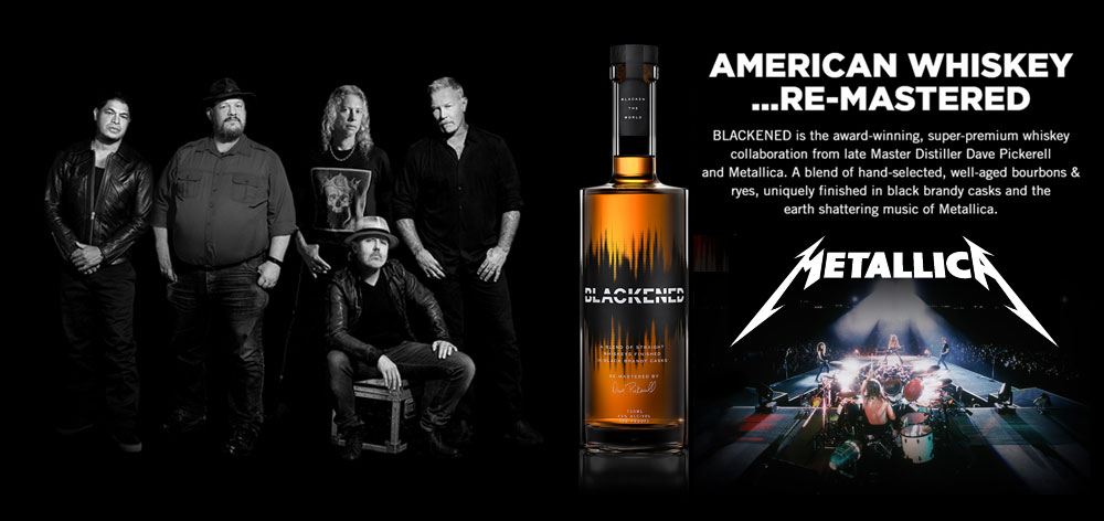 Blackened American Whiskey Remixed