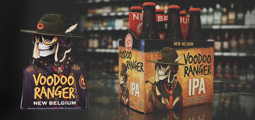 Voodoo Ranger IPA Beer from New Belgium